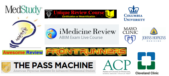 List of Internal Medicine Board Review Courses