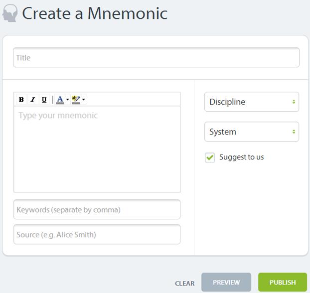 Create-Medical-Mnemonics