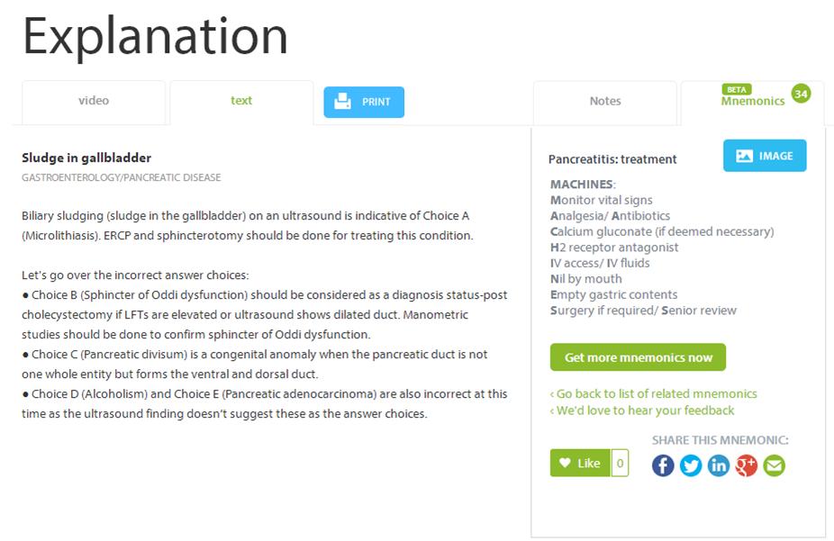 It's coming! A revolutionary, new medical mnemonics platform