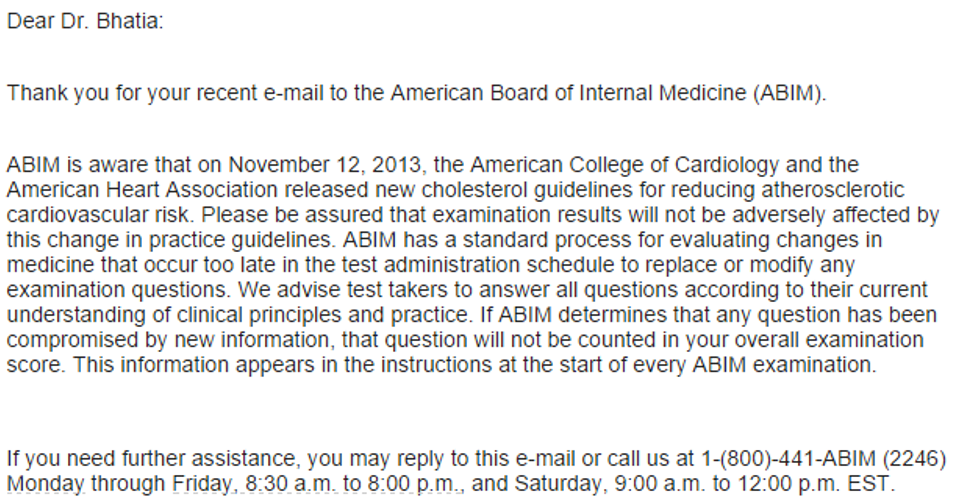 The 5 Things You Need to Know about the New Cholesterol Guidelines for the ABIM & USMLE exams