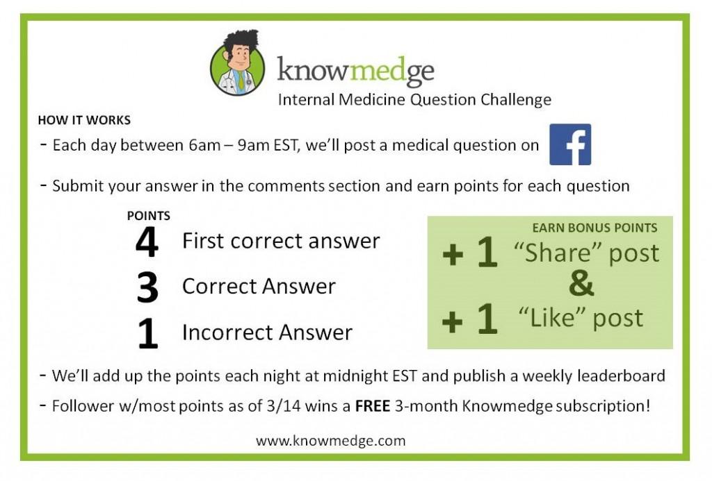 Internal Medicine Questions Challenge