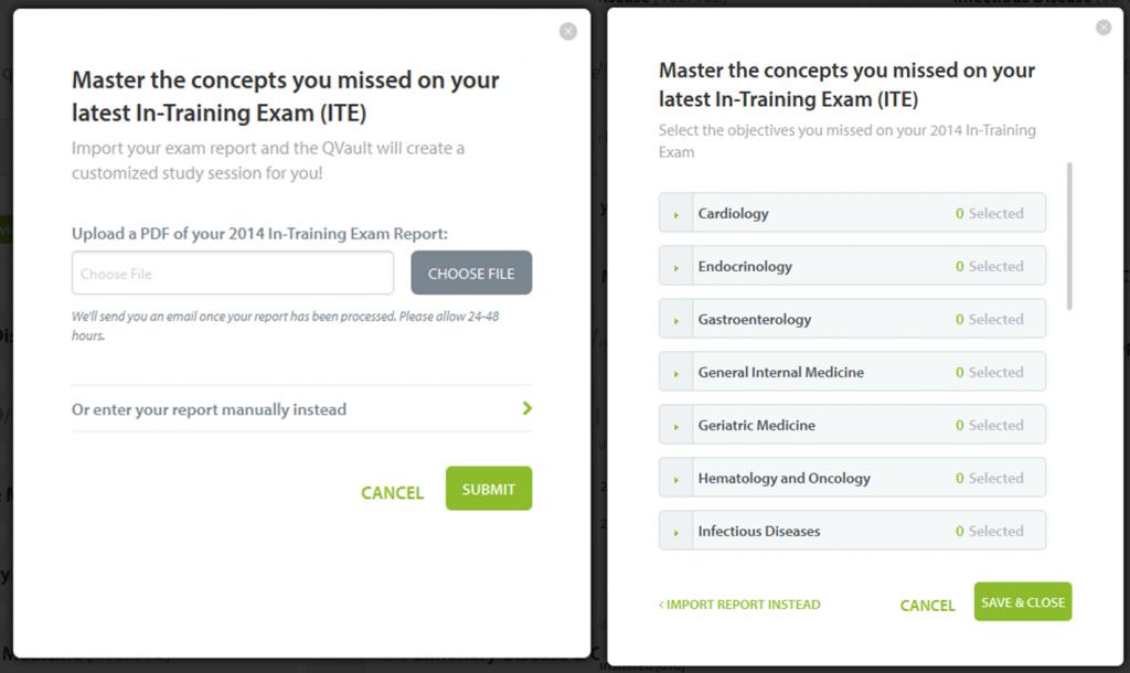 IM-ITE in-training exam - Internal Medicine