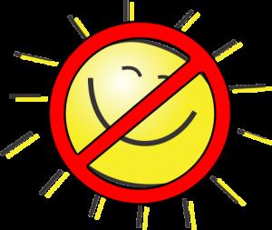 No sun melanoma